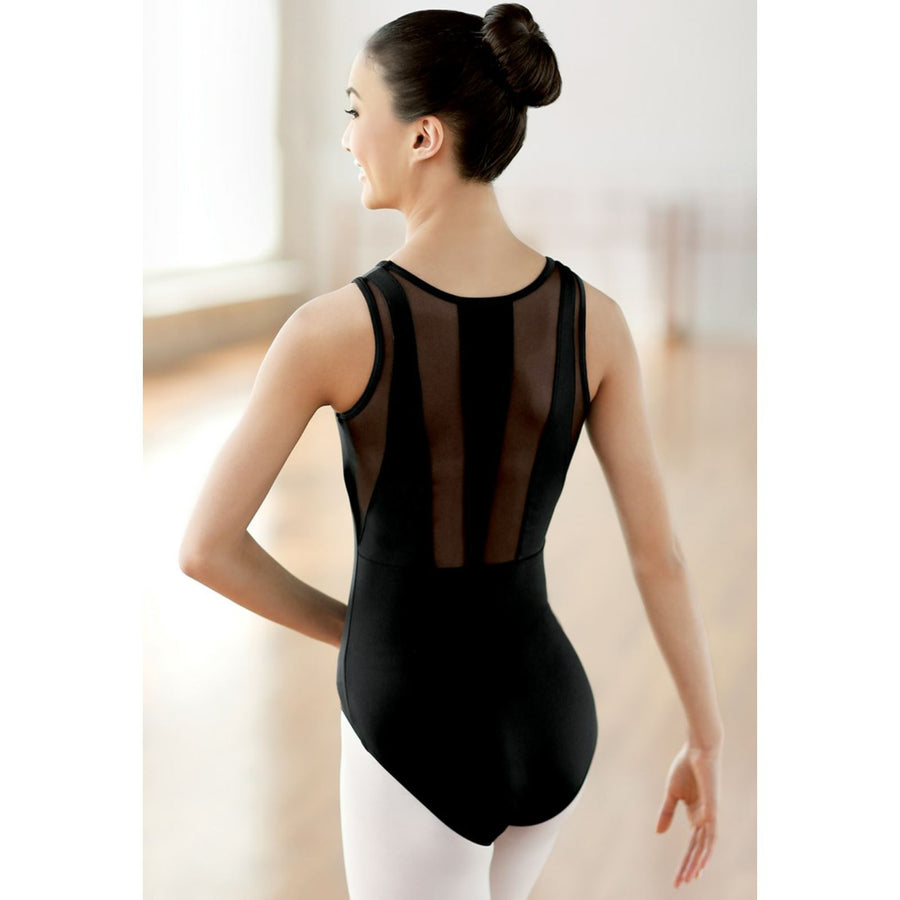 BLACK TANK LEOTARD WITH MESH BACK Dancewear Balera