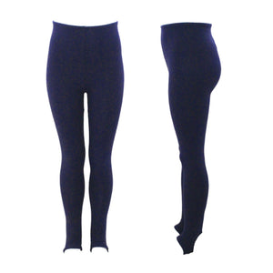 CEST - NAVY COTTON STIRRUP TIGHTS / LEGGINGS Women's Dancewear Dancers World
