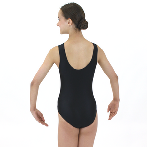 CLAIRE - SLEEVELESS PLAIN FRONT LEOTARD