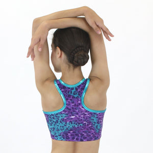 CLEO - RACER BACK CROP TOP Dancewear Click Dancewear