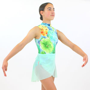 FERN - POLO NECK LEOTARD Dancewear Click Dancewear