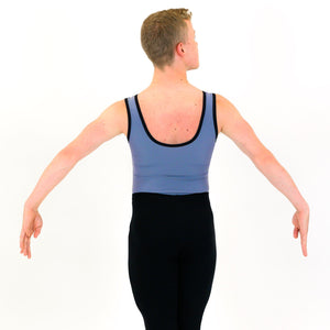 KAI - MEN'S RECYCLED VEST LEOTARD Dancewear Click Dancewear