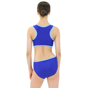 MARINA - RECYCLED SIDE CUT OUT LEOTARD Dancewear Click Dancewear
