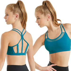 MESH STRAPPY BRA TOP Dancewear Balera