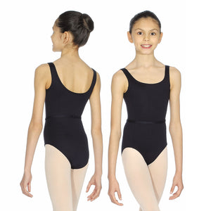 ROCH VALLEY BEATRICE MICROFIBRE SLEEVELSS LEOTARD Dancewear Roch Valley Black 0 (Age 3-4)