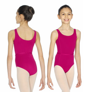 ROCH VALLEY BEATRICE MICROFIBRE SLEEVELSS LEOTARD Dancewear Roch Valley Burgundy 0 (Age 3-4)