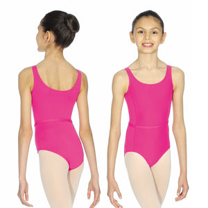 ROCH VALLEY BEATRICE MICROFIBRE SLEEVELSS LEOTARD Dancewear Roch Valley Mulberry 0 (Age 3-4)