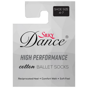 'SILKY' BRAND HIGH PERFORMANCE COTTON BALLET & DANCE SOCKS