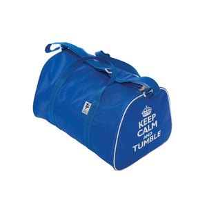 TAPPERS & POINTERS KEEP CALM AND TUMBLE HOLDALL Bags & Holdalls Tappers and Pointers Royal Blue