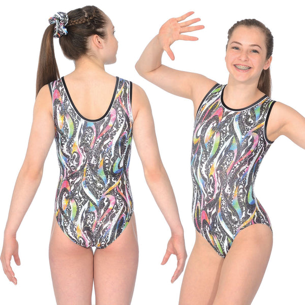 "THE ZONE PANDORA SLEEVELESS GYMNASTIC LEOTARD - SIZE 28"" Gymnastics The Zone"