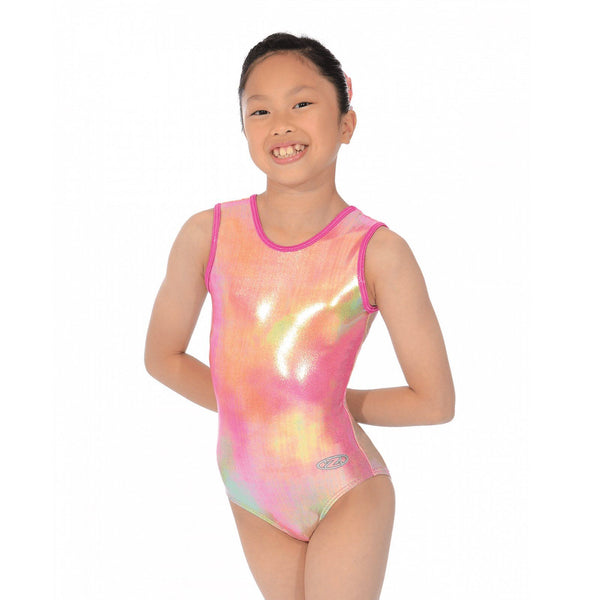 "THE ZONE REBEL SLEEVELESS GYMNASTIC LEOTARD - SIZE 28"" Gymnastics The Zone"