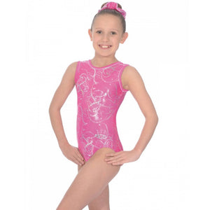 "THE ZONE SORBET SLEEVELESS GYMNASTIC LEOTARD - SIZE 26"" Gymnastics The Zone"