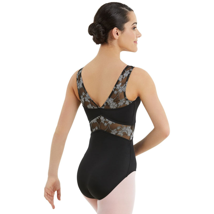 V NECK LACE LEOTARD Dancewear Balera