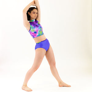 VIOLET - HIGH WAIST DANCE PANTS Dancewear Click Dancewear