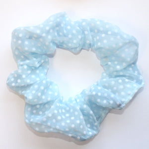 VOILE SCRUNCHIES Hair Accessories Dancers World Pale Blue