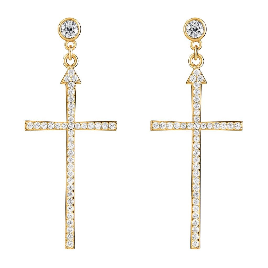 Madonna Earrings Gold