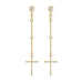 Imissa Earrings Gold