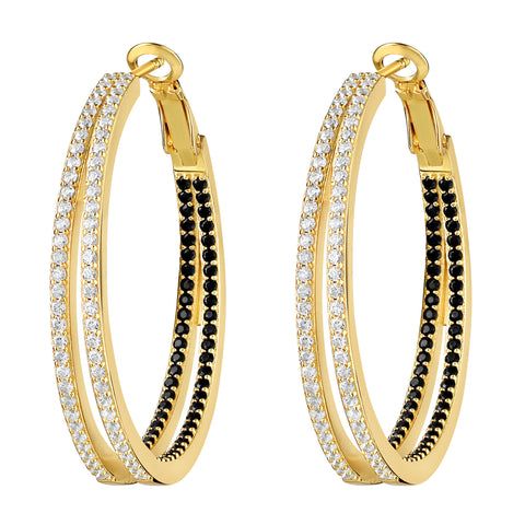 Nevaeh Hoops Gold