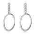 Erela Earrings White Rhodium