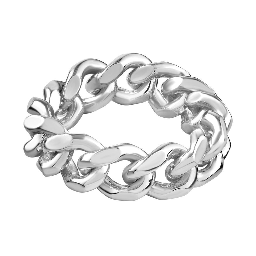 Sharsheret Ring White Rhodium