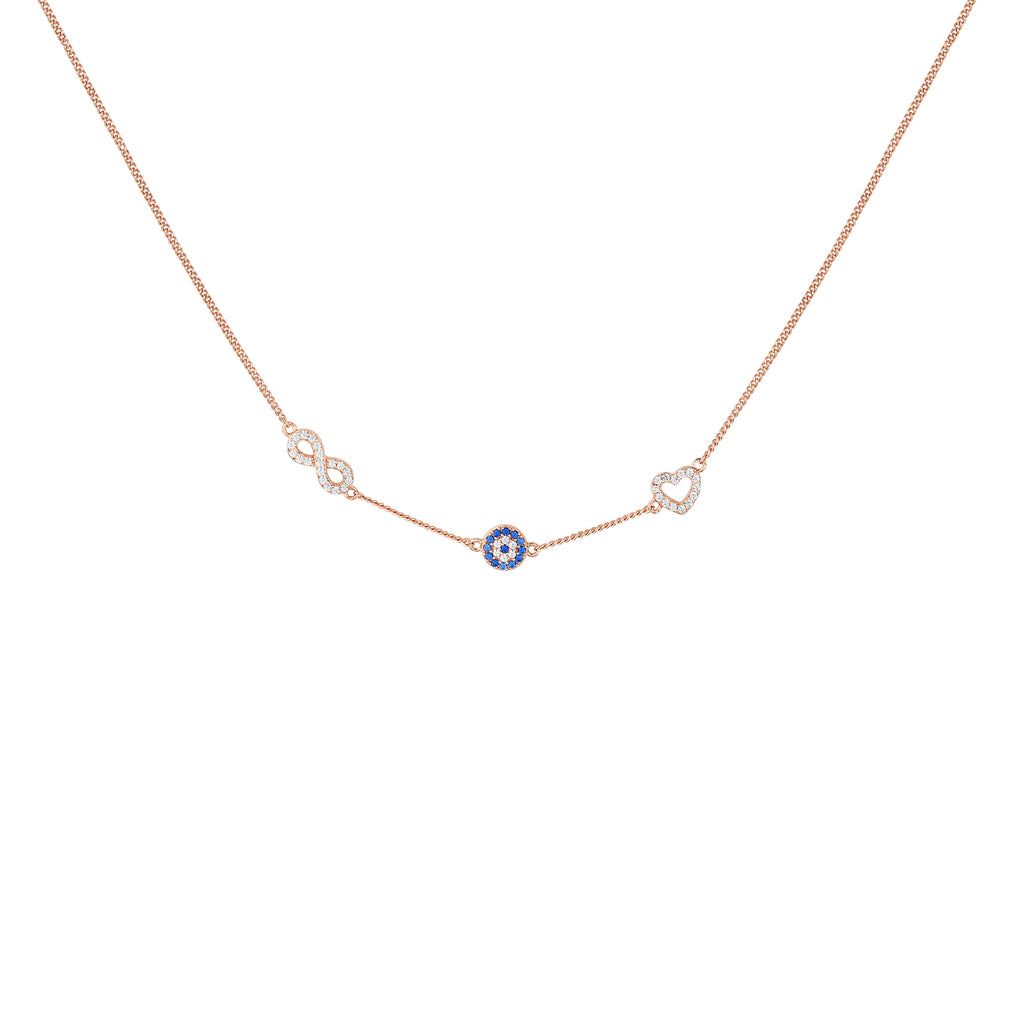 Dejà Necklace Rose Gold