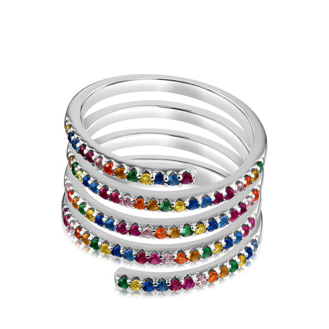 Mia Ring Rainbow