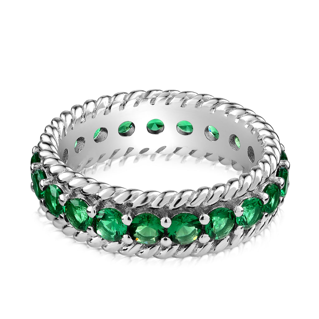Tippi Ring Green