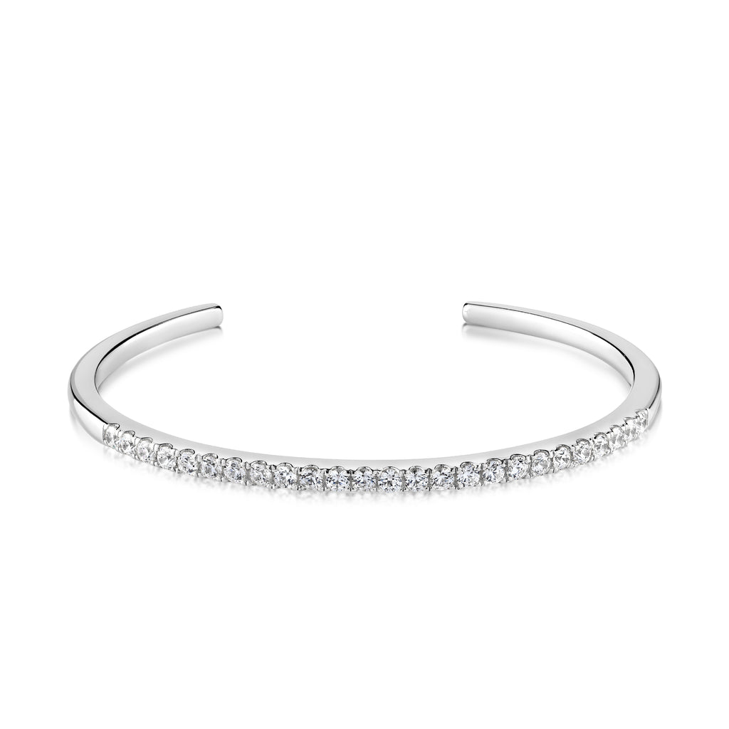 Catherine Bracelet White Rhodium