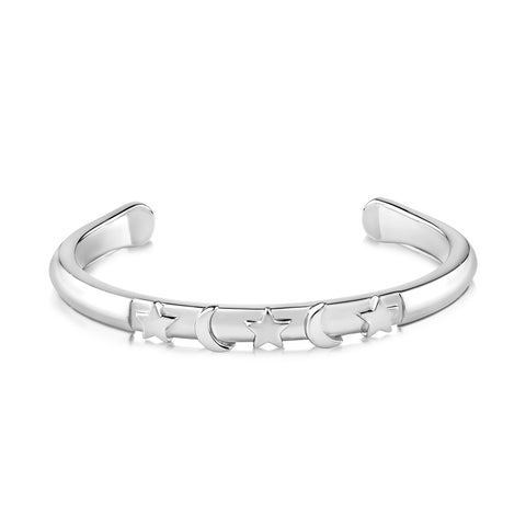 Nancy Bracelet White Rhodium