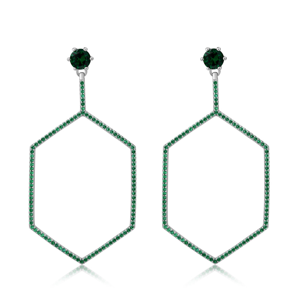 Cher Earrings Green