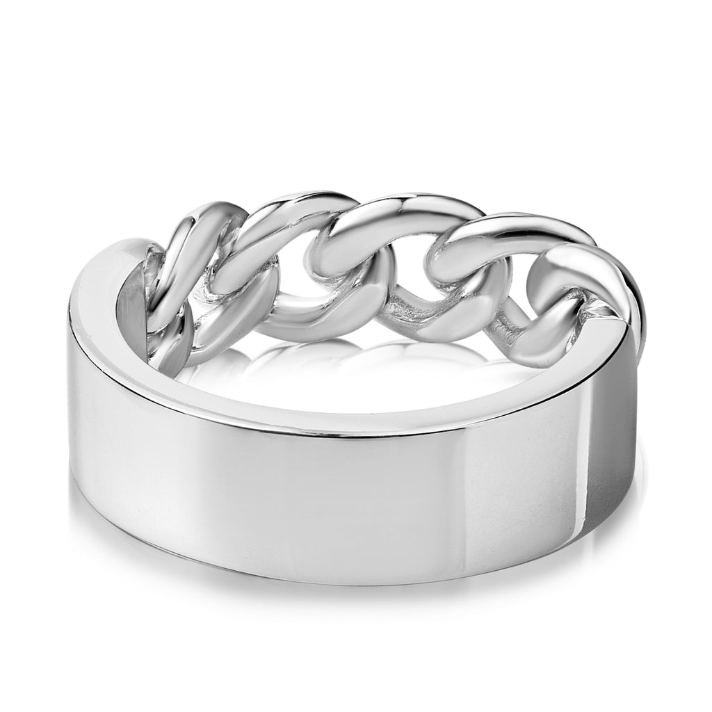ORBIT RING SILVER