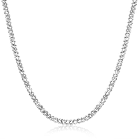 Anita Chain White Rhodium