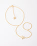 Adalia Hand Chain Gold