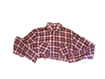 RNCSTRCT CROP TOP FLANNEL