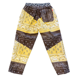 Paisley Pants Yellow & Brown