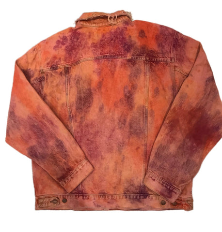 SUNSET DYE DENIM JACKET