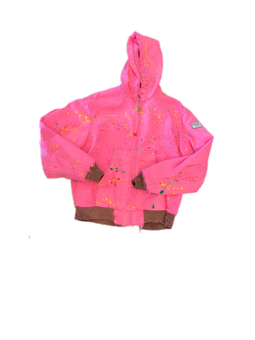 TIE DYE WORK WEAR JACKET