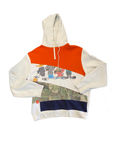 SLASHED MIX AND MATCH HOODIE RANDOM SELECTION