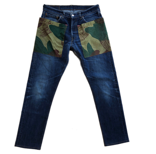 501 JEANS WITH CAMO POCKETS