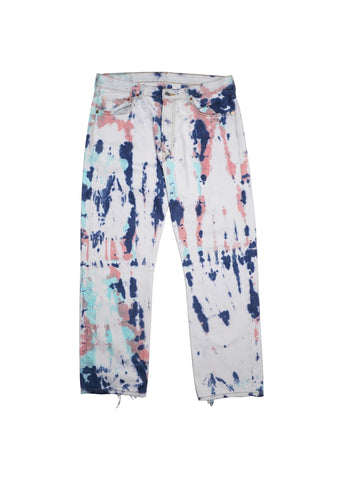 BUBBLE GUM TIE DYE PANTS