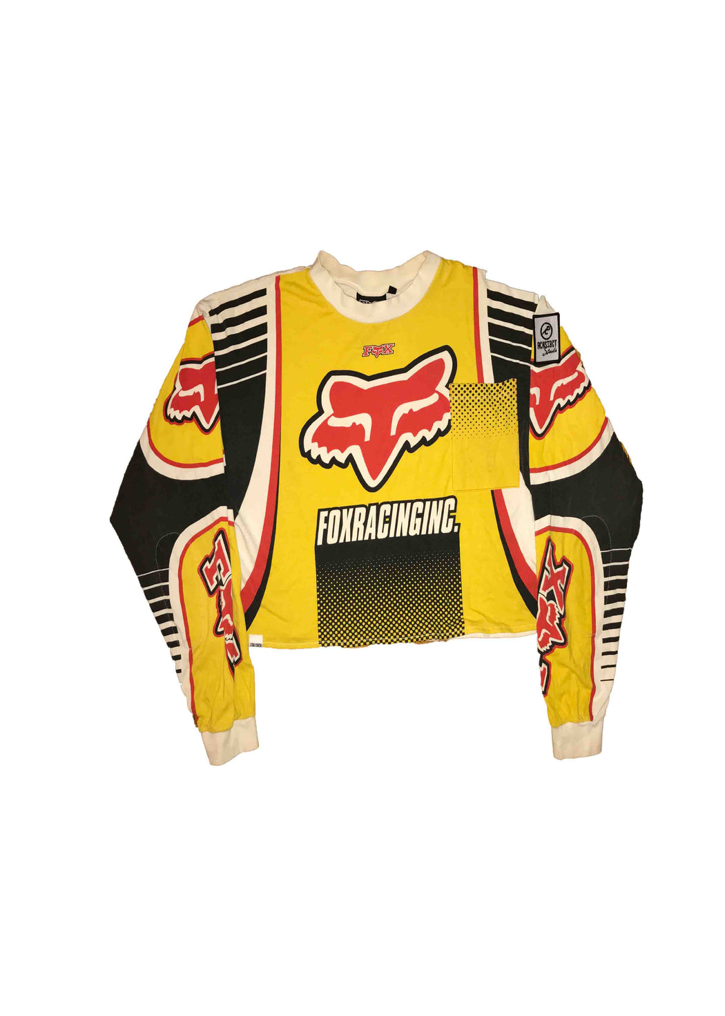 FOX RACING // YELLOW CROP