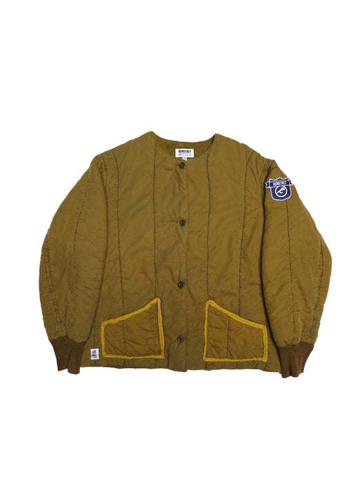 MUSTARD MILITARY OVER DYED SHELL