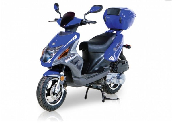 TUSCAN 50cc - 3.0 HP 4 stroke SOHC Gas Scooter