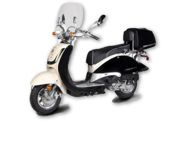 HERITAGE 150cc 2 TONE Scooter - NEW MODEL