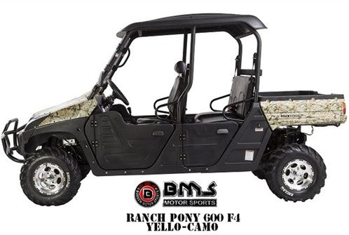 RANCH PONY 600 4 Seat UTV - PDXMotorSport