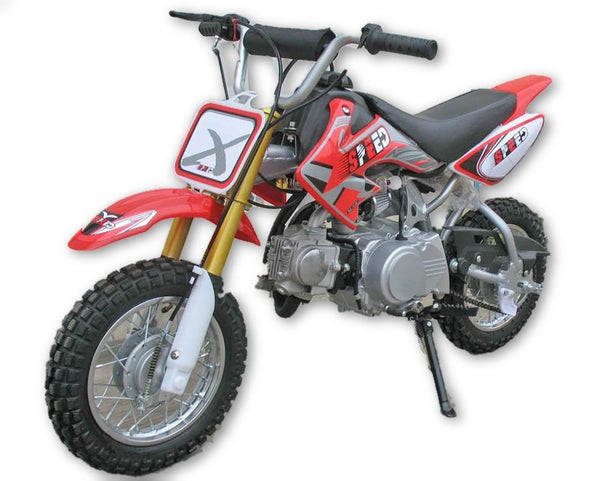 Dirt Bike 110cc Single Cylinder 4-Stroke - Air Cooled - Fully Automatic - Electric Start - Front Disc Brake & Rear Disc Brake - Ignition CDI - PDXMotorSport