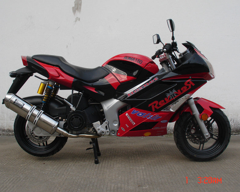 "NEW Sport Bike/ Motorcycle Racing 150cc Single Cylinder 4-Stroke - Forced Air-Cooled - Front Disc / Rear Disc - Fully Automatic - Top Speed Of 70 MPH - Recessed L.E.D Turn Signald - Up Graded 13"" Wheels - PDXMotorSport"