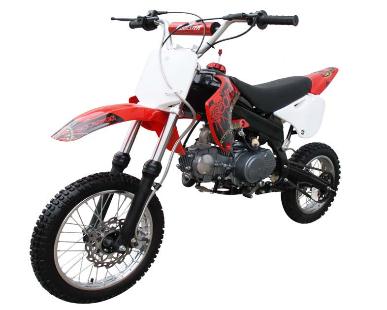 NEW Dirt Bike 125cc Single Cylinder, 4-Stroke With Semi Auto Transmission Upgraded - Compulsory Air Cooled Manual - 4 Speed - Ignition CDI - Front/ Rear Disc Brakes - PDXMotorSport