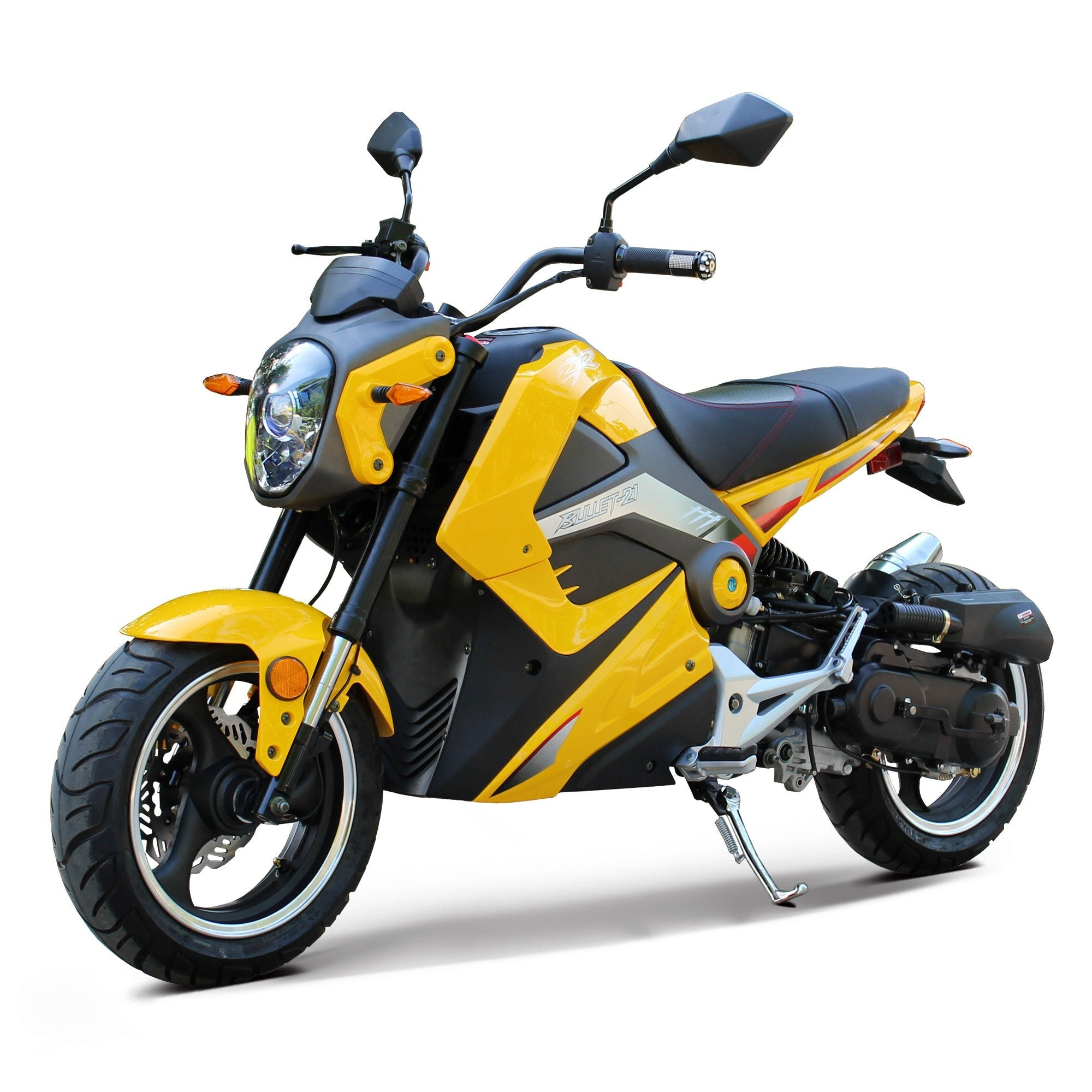 NEW BODY STYLE - Smooth & Super Durable Sport Bike 50cc With GY6 Engine - Top Speed 34+MPH - PDXMotorSport