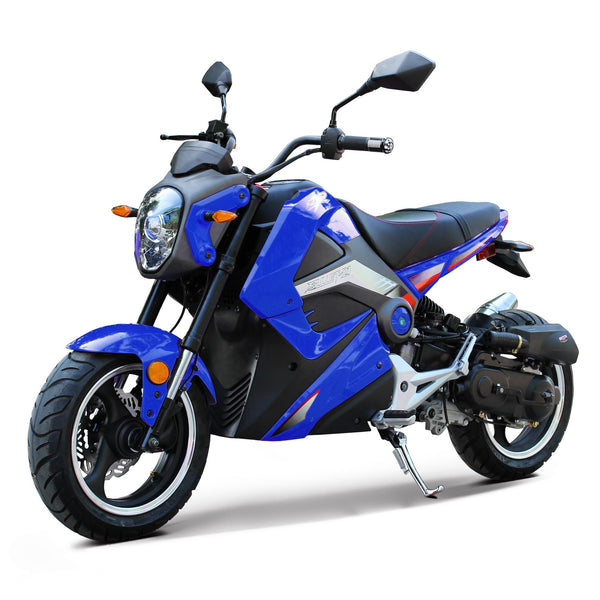 NEW BODY STYLE - Smooth & Super Durable Sport Bike 50cc With GY6 Engine - Top Speed 34+MPH